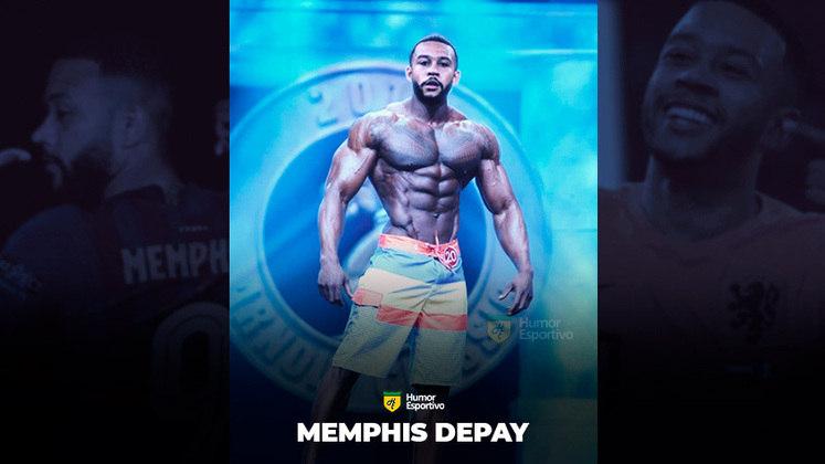 Jogadores ou fisiculturistas? O resultado com Memphis Depay!