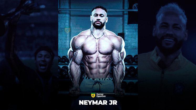 Jogadores ou fisiculturistas? O resultado com Neymar Jr!