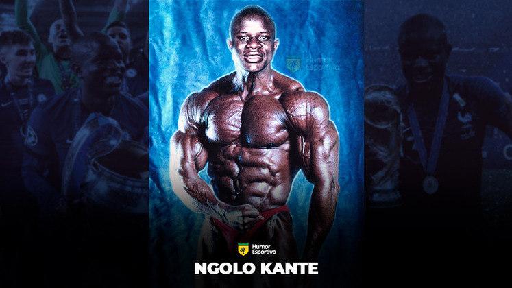 Jogadores ou fisiculturistas? O resultado com N'Golo Kanté!