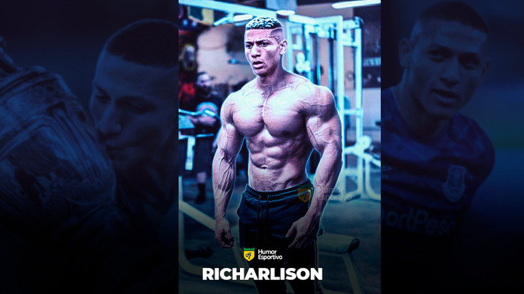 Jogadores ou fisiculturistas? O resultado com o atacante Richarlison!