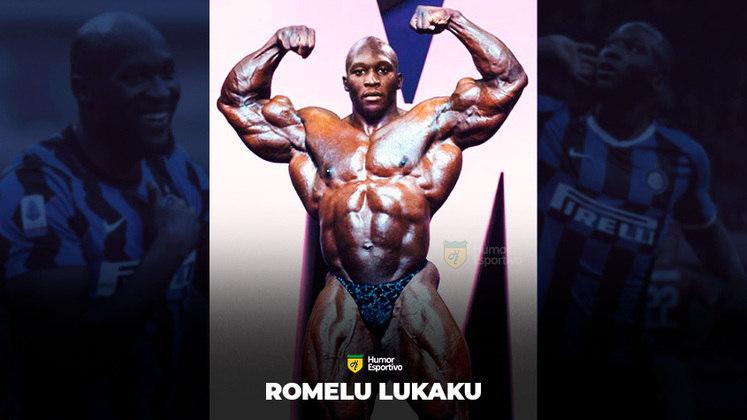 Jogadores ou fisiculturistas? O resultado com o belga Romelu Lukaku!