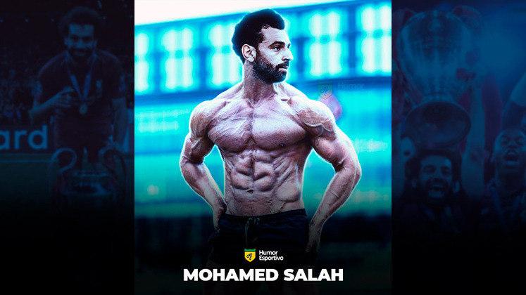 Jogadores ou fisiculturistas? O resultado com o Mohamed Salah!