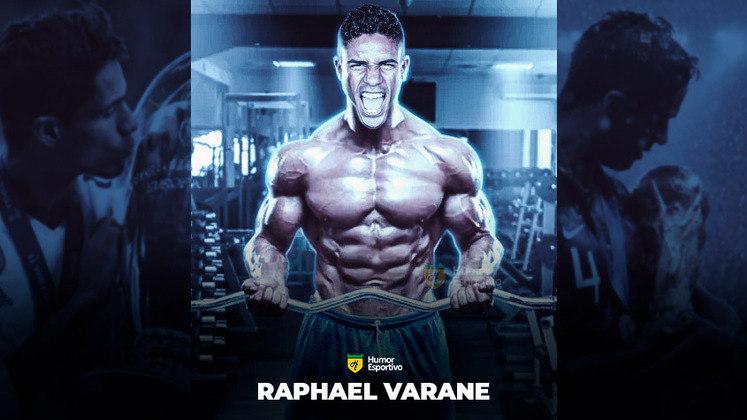 Jogadores ou fisiculturistas? O resultado com Raphael Varane!