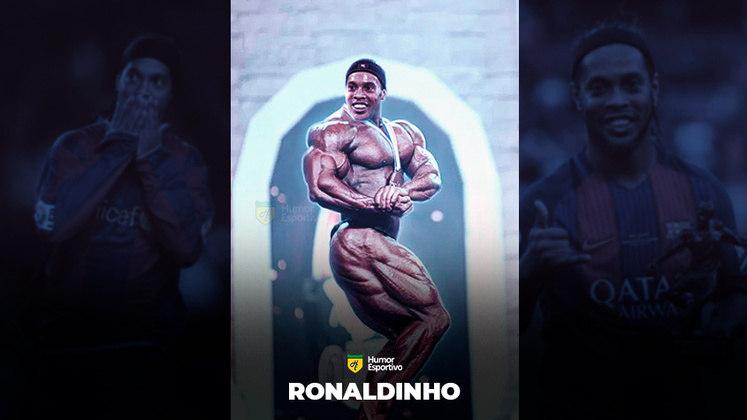 Jogadores ou fisiculturistas? O resultado com Ronaldinho Gaúcho!