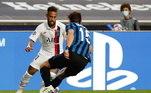 2º - Neymar - PSGPosição: atacanteValor: 148 milhões de euros - cerca de R$ 952 milhões