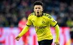 4º - Jadon Sancho - Borussia DortmundPosição: atacanteValor: 136 milhões de euros - cerca de R$ 875 milhões