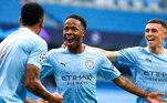 3º -Raheem Sterling - Manchester CityPosição: atacanteValor: 140 milhões de euros - cerca de R$ 900 milhões