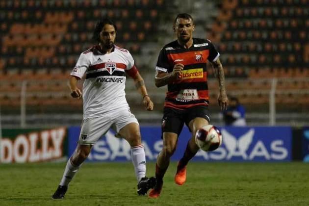 Jogo 10: Ituano 0 x 3 São Paulo (Estádio Novelli Júnior - 25/04/2021) - Gols do São Paulo: Rodrigo Freitas (1 x 0), Igor Vinícius (2 x 0) e Galeano (3 x 0)