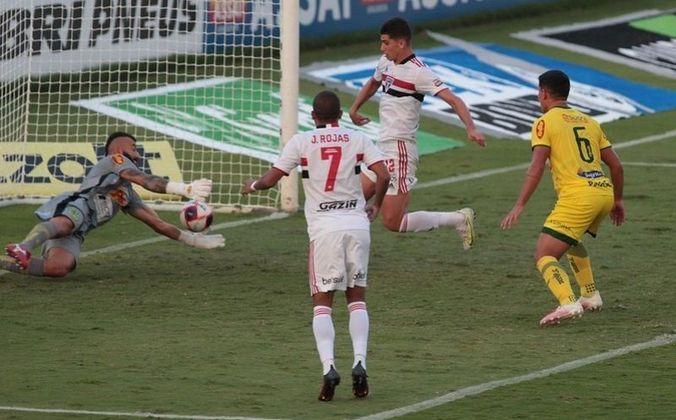 Jogo 12: Mirassol 1 x 1 São Paulo (Estádio José Maria de Campos Maia - 09/05/2021) - Gol do São Paulo: Vitor Bueno (1 X 1)