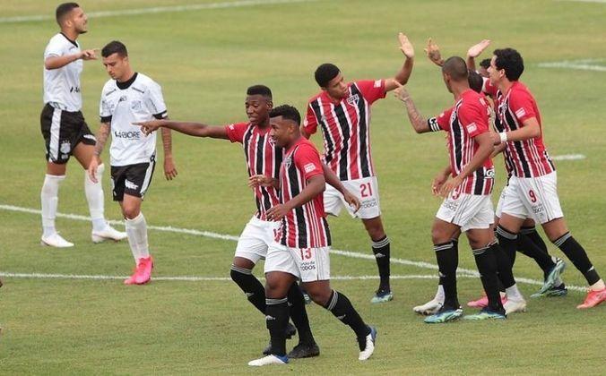 Jogo 2: Inter de Limeira 0 x 4 São Paulo (Estádio Major José Levy Sobrinho - 03/03/2021) - Gols do São Paulo: Gabriel Sara (1 x 0), Pablo (2 x 0), Luciano (3 x 0) e Rojas (4 x 0)