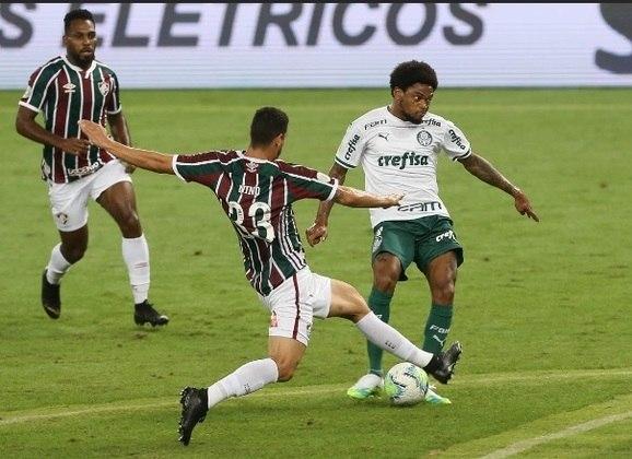 Jogo 6: Fluminense 1x1 Palmeiras (segunda rodada do Brasileirão)