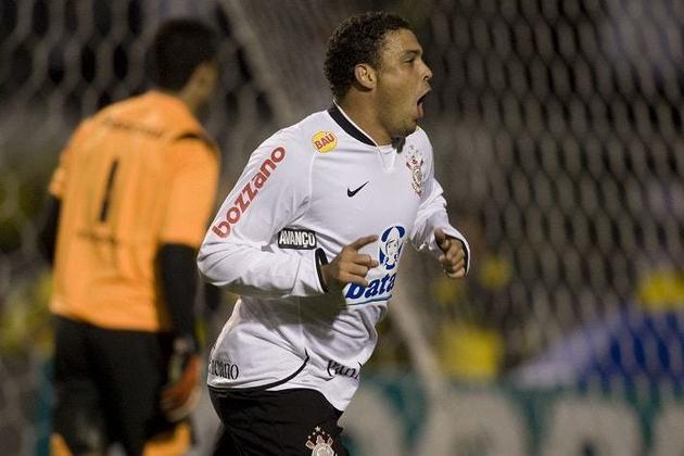 Jogo de ida da final da Copa do Brasil 2009 - Corinthians 2 x 0 Internacional - gols de Ronaldo e Jorge Henrique (17/6/2009)