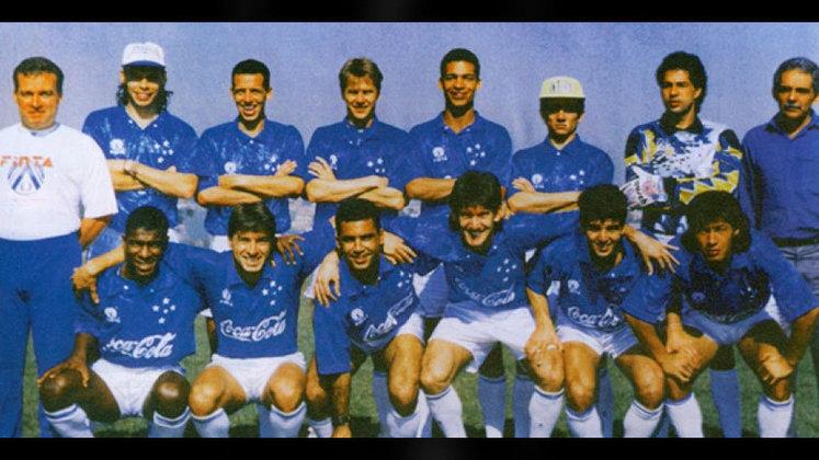 Jogo de ida da final de 1993: Grêmio 0 x 0 Cruzeiro - Na volta, o Cruzeiro venceu por 2 a 1 e foi campeão.