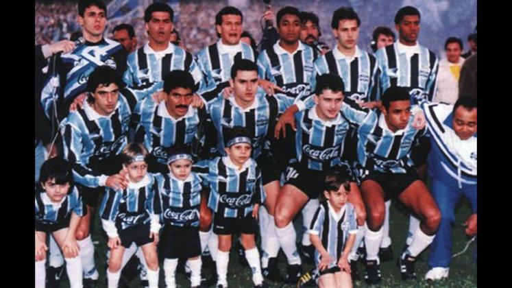 Jogo de ida da final de 1994: Ceará 0 x 0 Grêmio - Na volta, o Grêmio venceu por 1 a 0 e foi campeão.