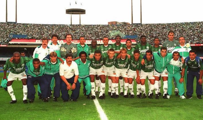 Jogo de ida da final de 1998: Cruzeiro 1 x 0 Palmeiras - Na volta, o Palmeiras venceu por 2 a 0 e foi campeão.