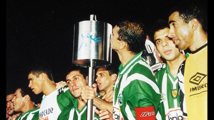Jogo de ida da final de 1999: Juventude 2 x 1 Botafogo - Na volta, as equipes empataram em 0 a 0 e o Juventude foi campeão.