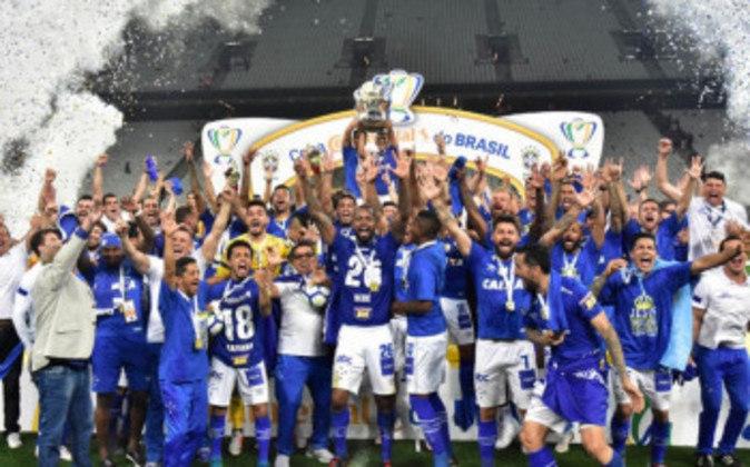 Jogo de ida da final de 2018: Cruzeiro 1 x 0 Corinthians - Na volta, o Cruzeiro venceu por 2 a 1 e foi campeão.