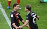 E o poderoso Bayern segue batendo os adversários. A vítima dessa vez foi o rival RB Leipzig, que briga na ponta da tabela. Leon Goretzka marcou o gol solitário dos bávaros