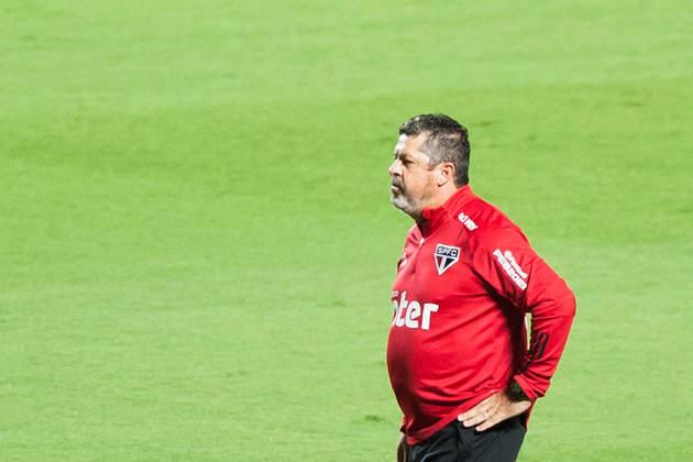 Jogos que faltam para o São Paulo, que tem 59 pontos hoje: x Grêmio (Arena do Grêmio) / x Palmeiras (Morumbi) / x Botafogo (Nilton Santos) / x Flamengo (Morumbi)