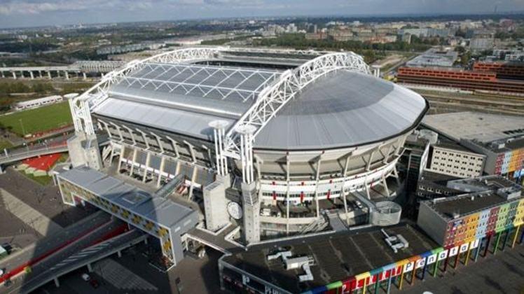 Johan Cruyff Arena, em Amsterdã, na Holanda.
