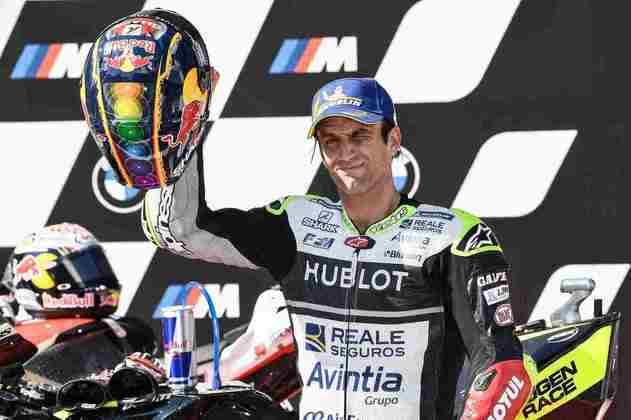 Johann Zarco conseguiu seu primeiro pódio com a Ducati e o primeiro da Avintia