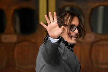 Johnny Depp chega à Suprema Corte de Londres