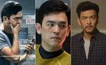 Querido em Hollywood, o ator John Cho tem uma carreira de respeito no cinema e na TV. De origem sul-coreana, o astro de 48 anos vem mostrando a versatilidade em papeis dos mais diversos gêneros, como suspense, ficção científica, terror e comédia. Veja alguns das produções de destaque das quais ele fez parte