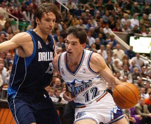 John Stockton - O armador foi um dos grandes nomes da história da NBA. No entanto, jamais conquistou um título na liga, sendo vice ao lado de Karl Malone, em 1997 e 1998, ao perder ambas as decisões para o Chicago Bulls.