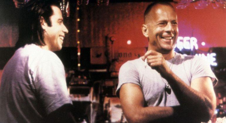 John Travolta e Bruce Willis, respectivamente, retomam parceria em novo projeto
