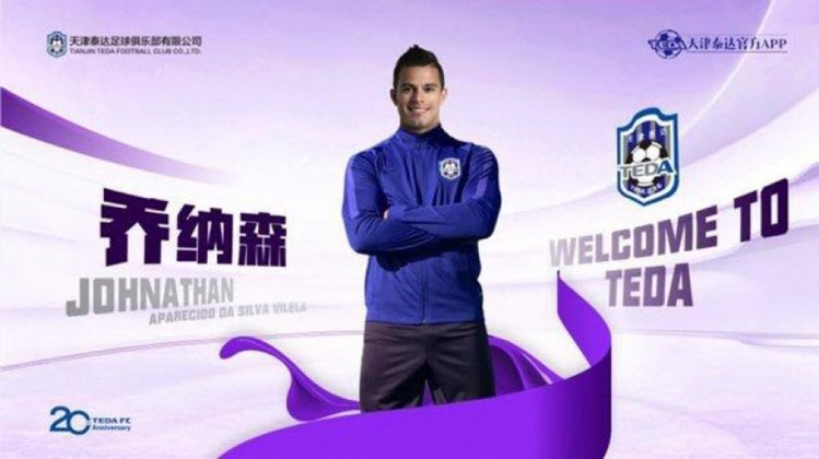 Johnathan (Tianjin Teda)