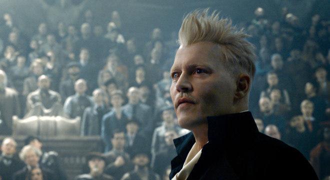 Johnny Deep viveu mago das trevas Gellert Grindelwald no filme