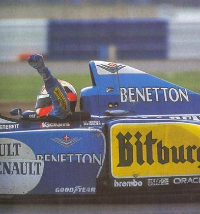 Johnny Herbert disputou 71 corridas até vencer o GP da Inglaterra de 1995