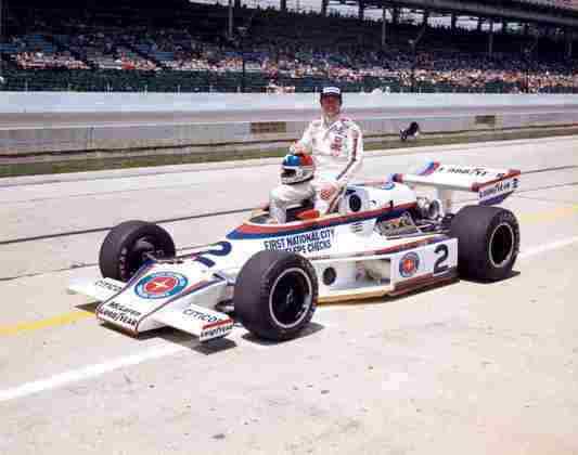 Johnny Rutherford é um ícone de Indianápolis. Venceu em 1974, 1976 e 1980