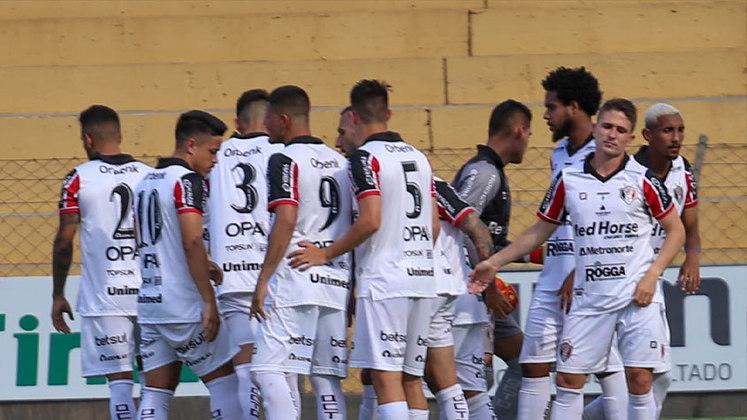 Joinville: O tricolor catarinense disputou a Série A do Brasileirão em 2015, mas foi rebaixado neste mesmo ano. Atualmente, a equipe disputa a Série D. Nesta última edição da quarta divisão, o Joinville terminou em sexto colocado do grupo 8. Portanto, não avançou à segunda fase da competição.
