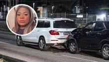 Jojo Todynho se envolve em acidente de carro no Rio de Janeiro