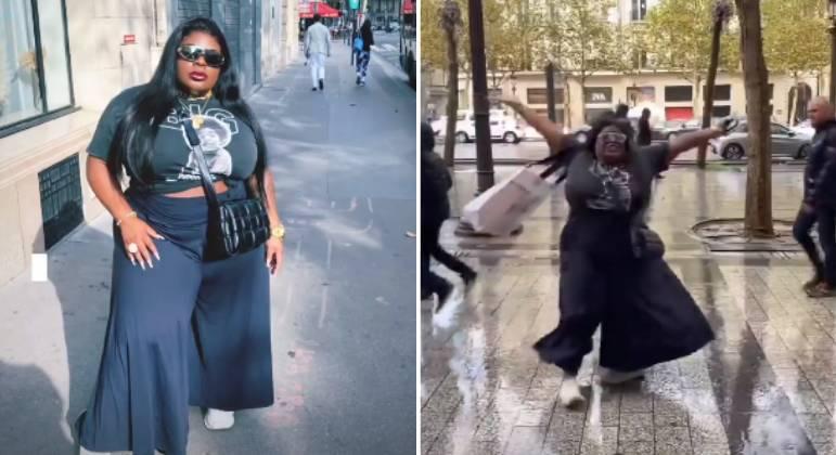 Pela 1ª vez em Paris, Jojo Todynho celebra: 'Luxando e devendo'