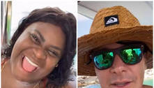 Jojo Todynho passeia de barco com Faro: 'Perdendo medo de nadar'