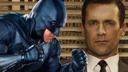 Jon Hamm revela que está amando ver seu nome nos boatos para ser o Batman ()