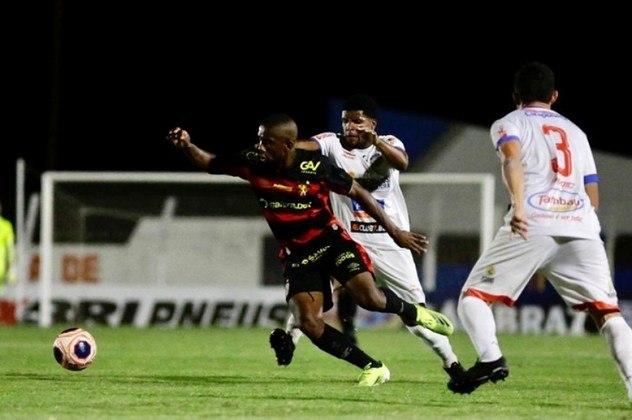 Jonas Toró (Sport - Atacante) - 21 anos - contrato até dezembro de 2021