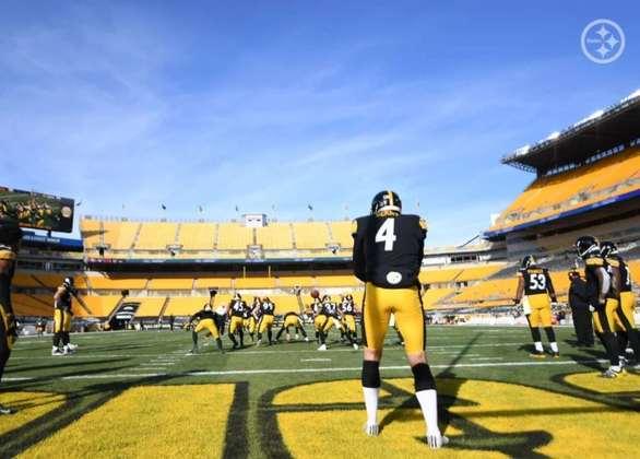 Jordan Berry (Austrália): Austrália e punt são um casamento perfeito. Berry veste a camisa do Pittsburgh Steelers.
