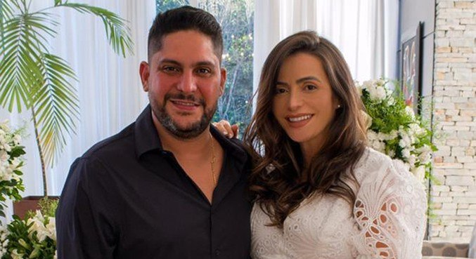 Jorge e Rachel se casaram sem alarde