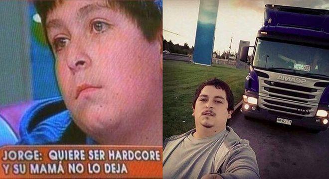 Jorge, o garoto que queria ser hardcore, reaparece como Jorge Hardcorito