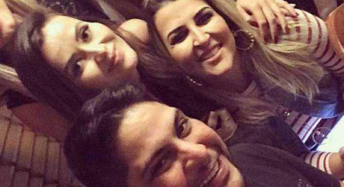Jorge, a ex-mulher Ina e a atual, Rachel