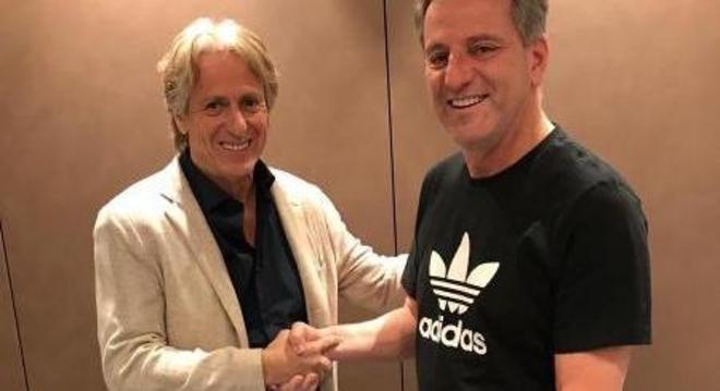 O técnico quer ficar até o final de  2021. O Flamengo aceita