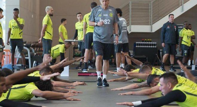 Técnico teve acesso a todos os treinamentos dos jogadores durante as férias