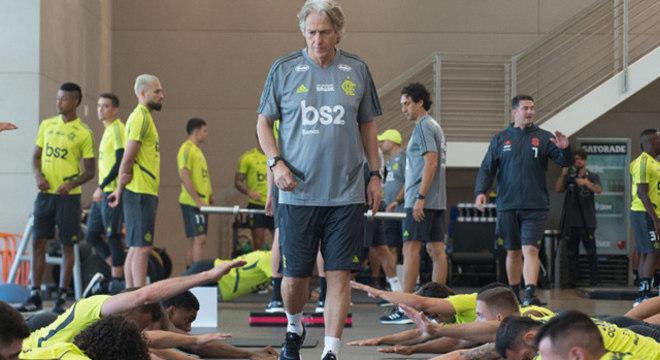 Nenhum treinador do futebol brasileiro tem tanto comando quanto Jesus