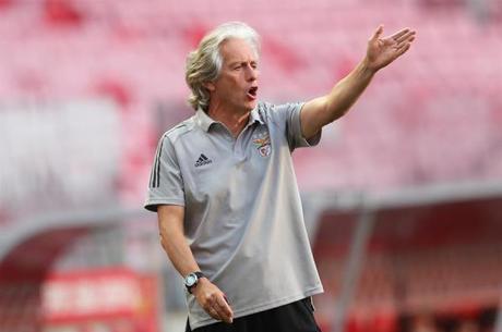 Jorge Jesus viu Benfica ter atuação decepcionante