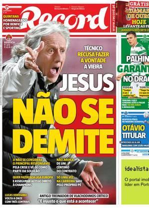 Decepção no retorno a Portugal