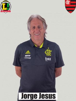 Jorge Jesus - 6,5 - A sua equipe ainda não foi a equipe imponente e letal nas oportunidades criadas. Por outro lado, pouco sofreu na final.