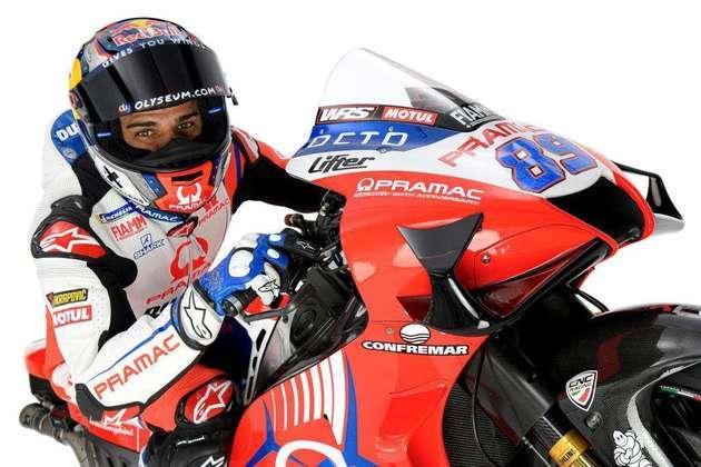 Jorge Martín é campeão da Moto3